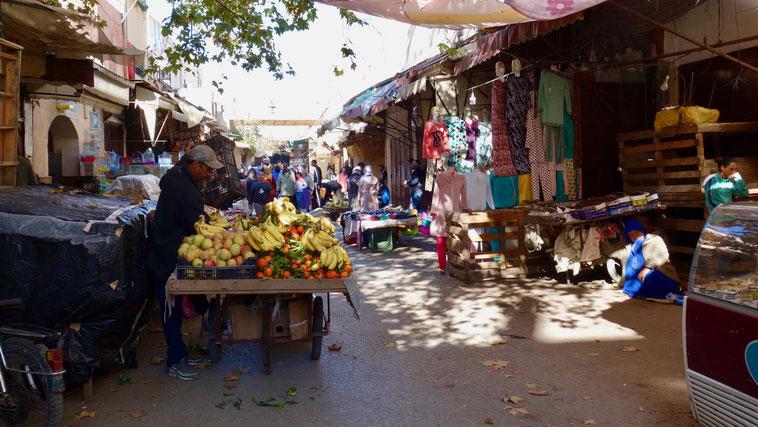 Souk in Fès, Marokko
