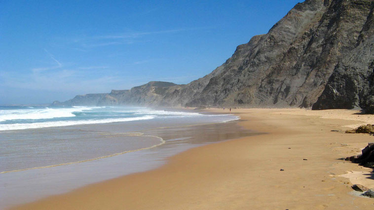 Reiseberichte: Portugal, Strände Praia do Castelejo und Praia da Cordoama