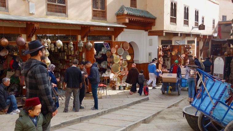 Medina in Fès, Marokko. Reiseberichte.
