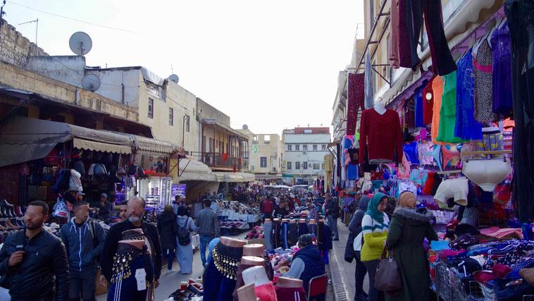 Reisebericht Meknes: Souks, Marokko