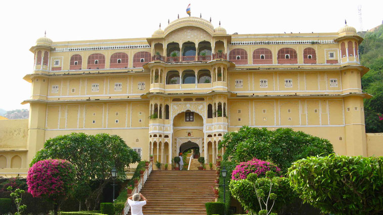 Indien Reise: Samode Palace