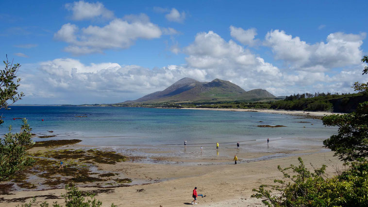Croagh Patrick in Irland