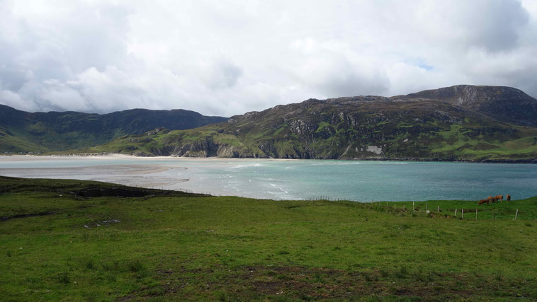 Bei Ardara, County Donegal, Norden Irlands