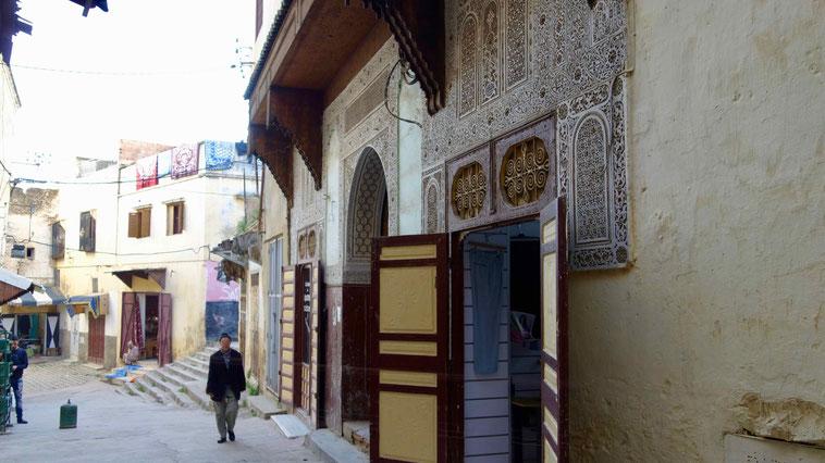 Souks, Meknes in Marokko