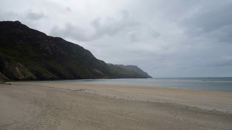 Maghera Strand und Höhlen, Donegal