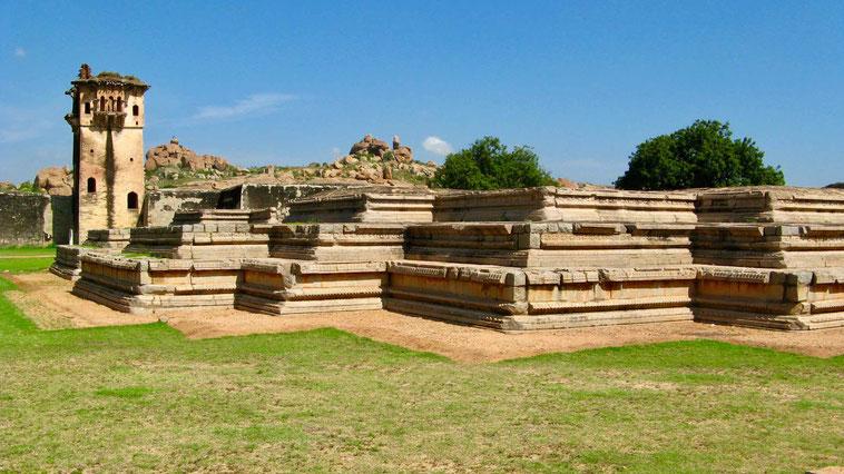 Hampi, Karnataka - Tempel und Denkmäler