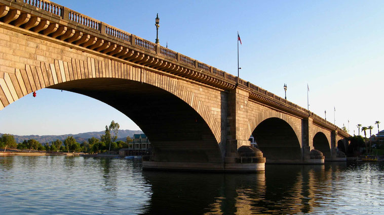 London Bridge in Lake Havasu City.