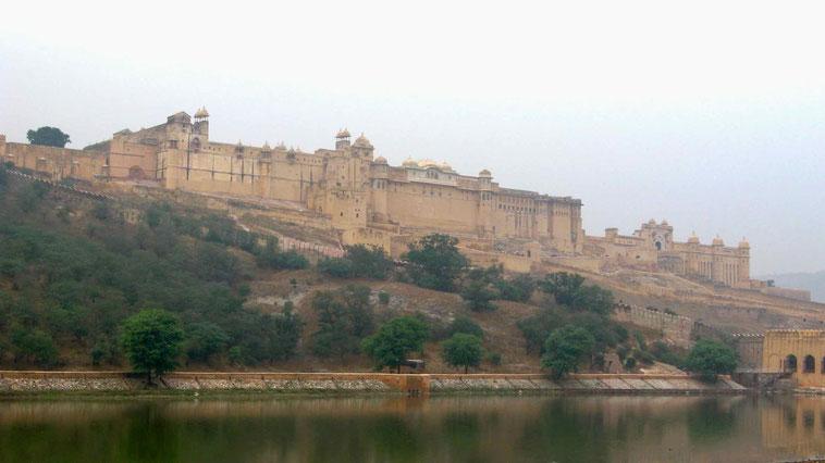 Jaipur: Das Amber Fort.
