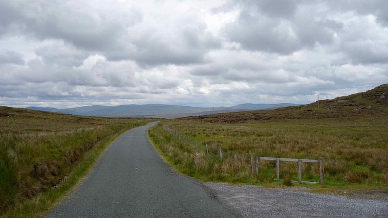 Zwischen Glencolumbkille und Ardara, Donegal