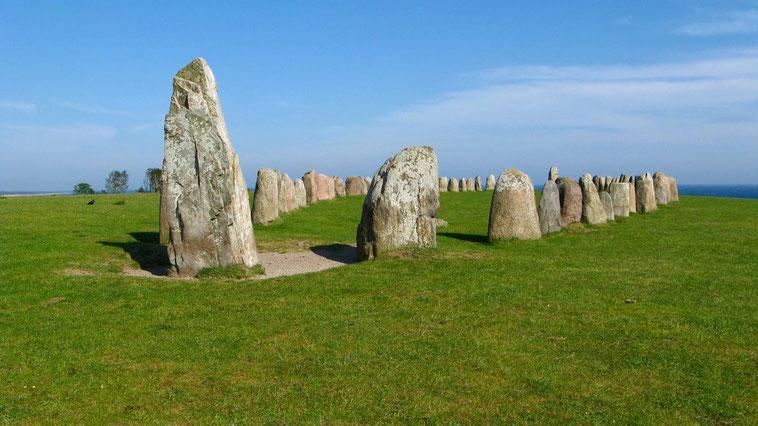 Urlaub, Sehenswürdigkeiten in Schweden: Ales stenar, Kaseberga