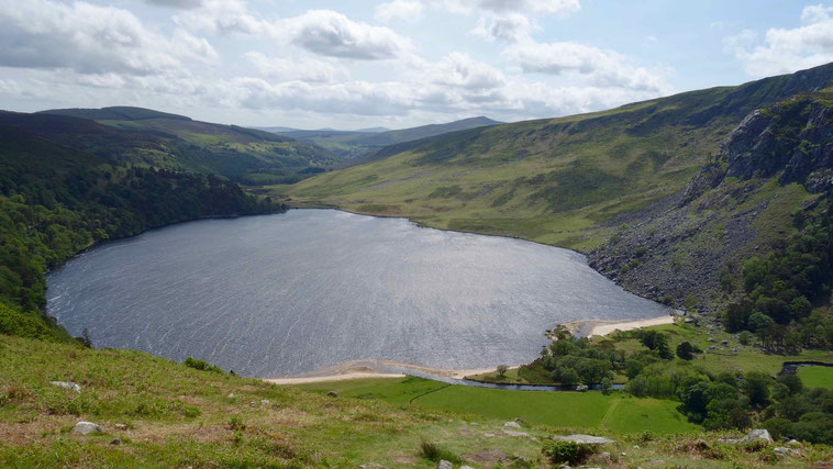 Irland Rundreise: Wicklow Mountains