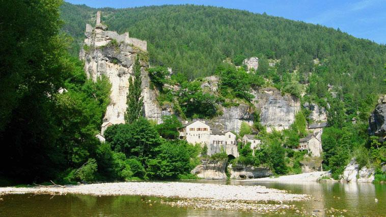 Reisebericht Tarn, Castelbouc, Frankreich