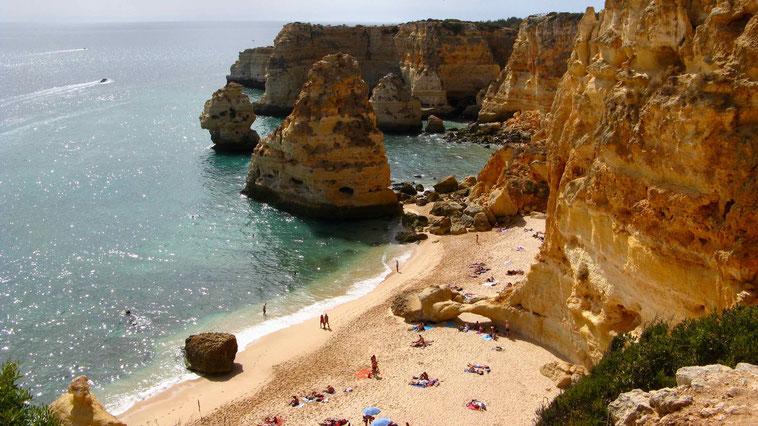 Algarve, Portugal: Praia da Marinha