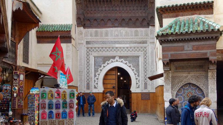 Medina von Fes in Marokko