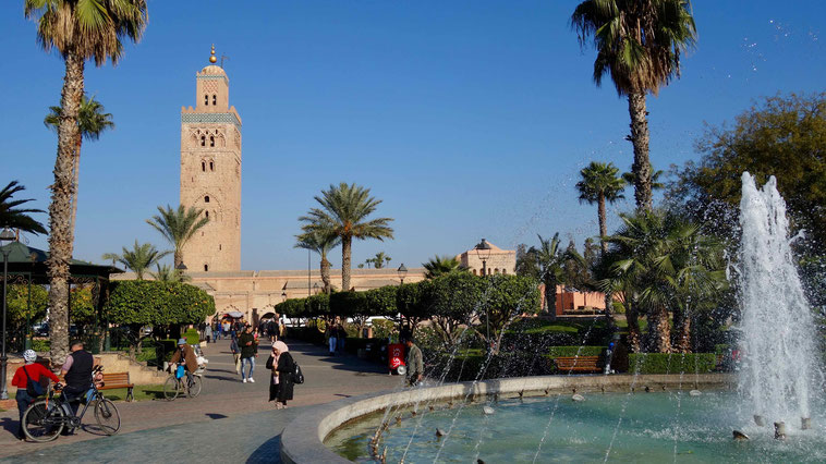 Koutoubia Moschee, Marrakesch
