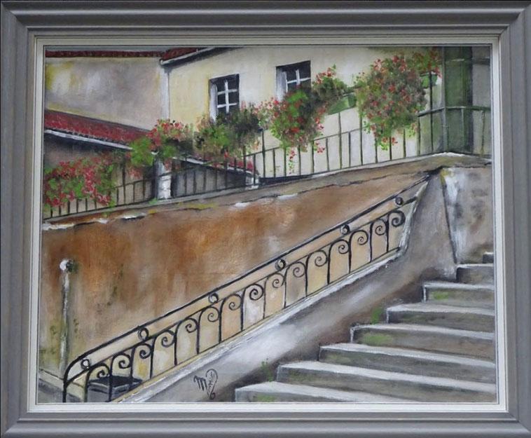 Peinture de Mireille Boix