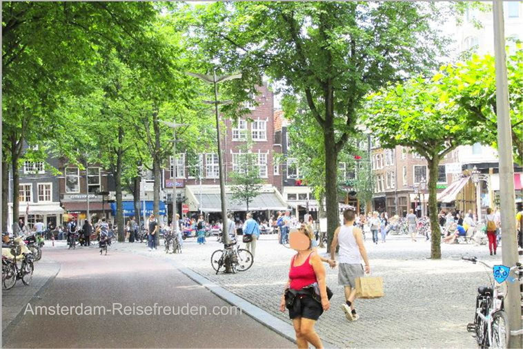 The SPUI place in Amsterdam is a very special attraction