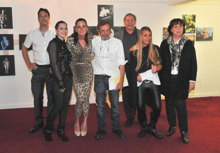 Bild von links nach rechts: Andreas Ewert (2.Vorstand), Naomi Steinmaier, Ulianah Nesterova, Peter Sommerfeld (1.Vorstand), Wolfgang Haack, Christa Haack