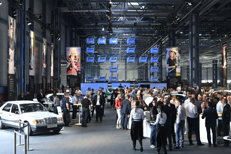 welcome-net Stuttgart, Full-Service-Agentur, Get-Together Jubiläum Mercedes-Benz Werk Rastatt
