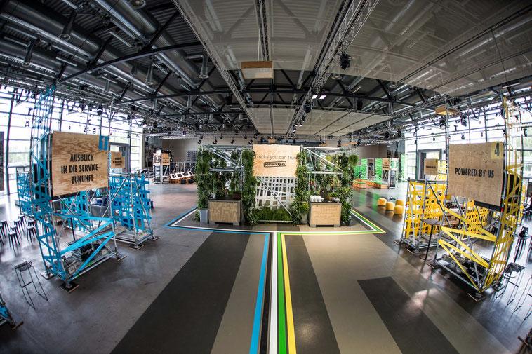 welcome-net, Stuttgart Eventmanagement, Informationsveranstaltung, kreatives Set-Up