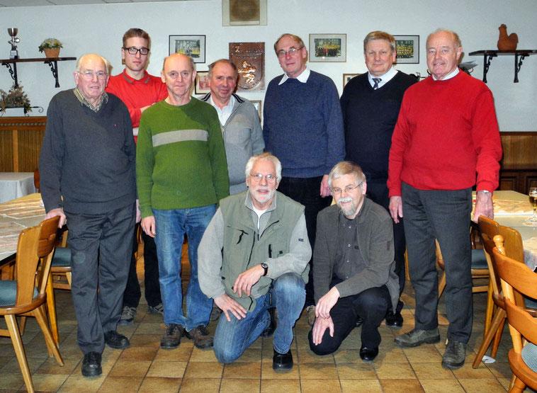 Jahreshauptversammlung 2012 Bienenzuchtverein Merkstein