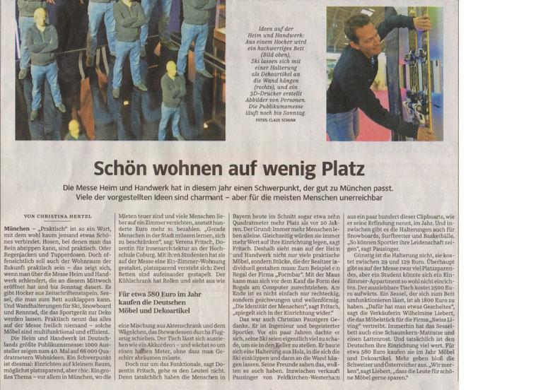 Süddeutsche Zeitung vom 30.11.2017