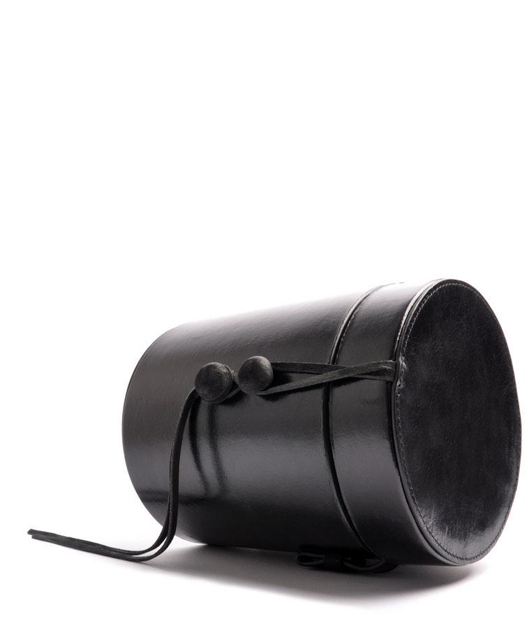 Ledertasche Vintagestyle Leder schwarz OSTWALD Tradition