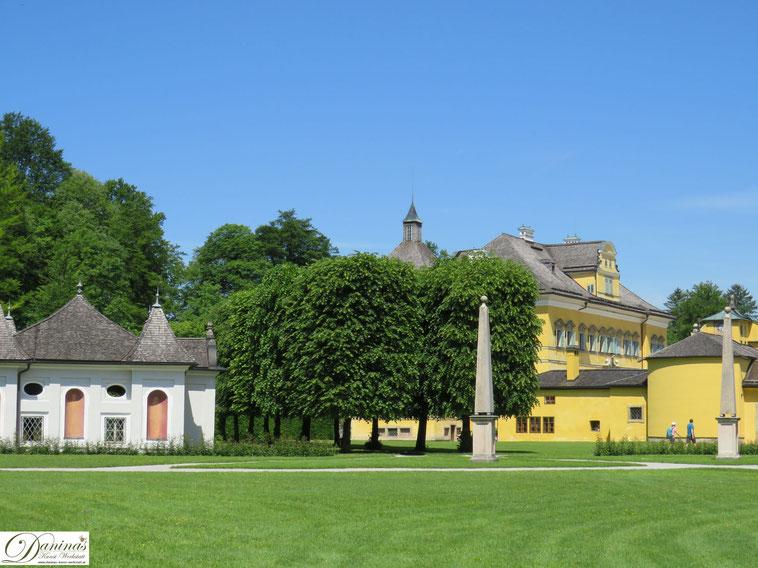 Schloss Hellbrunn, Park und Wasserspiele