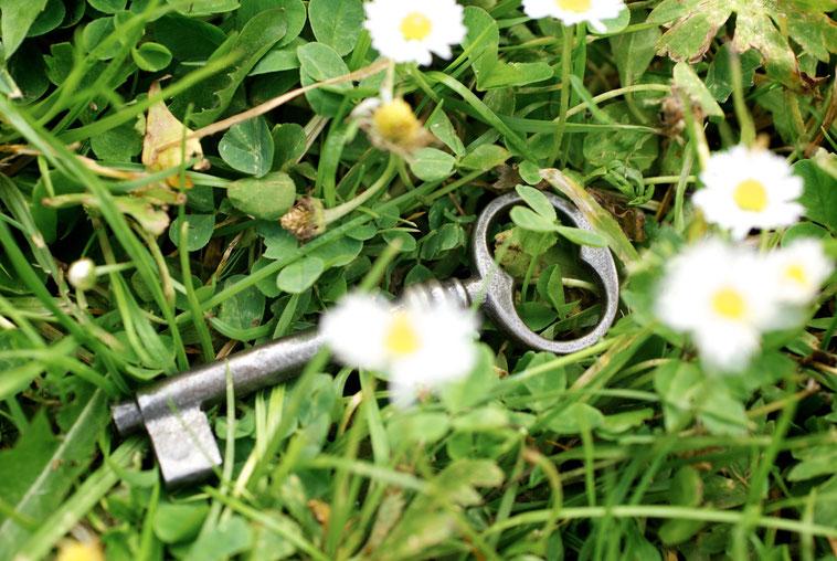Schlüssel zum Glück!