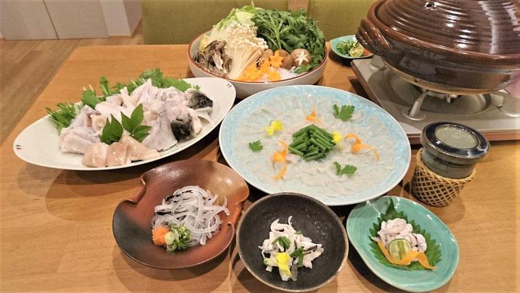 ふぐコース料理|福井市順化で地酒が豊富な割烹・居酒屋「晩酌ちろり」