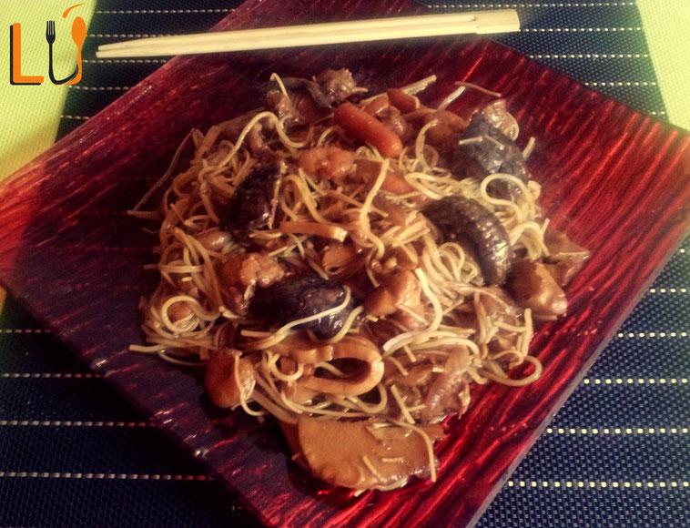 Fideos de arroz chinos a mi estilo p gina web de cocinar for Cocinar fideos de arroz