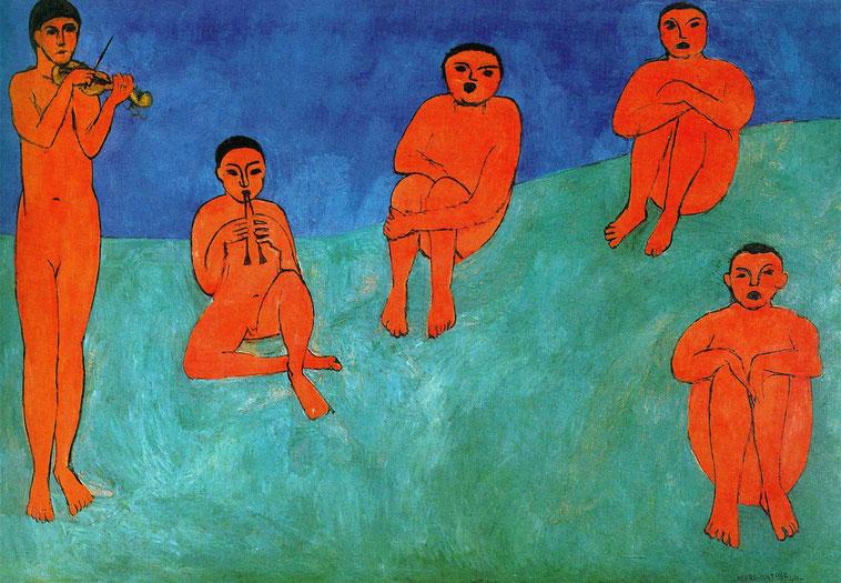 """Matisse, """"Musica"""""""