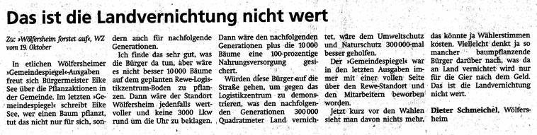 Wetterauer Zeitung, 5. Februar 2021