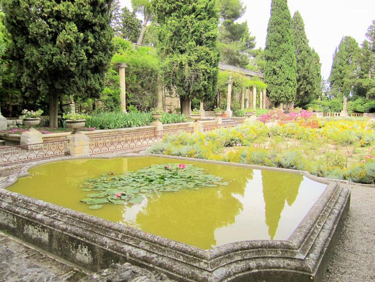 Bild: Les Jardins de l´Abbaye Saint André in Villeneuve-lès-Avignon