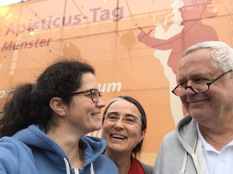 Imkerei Fließgold zu Besuch auf dem Apisticus-Tag in Münster.