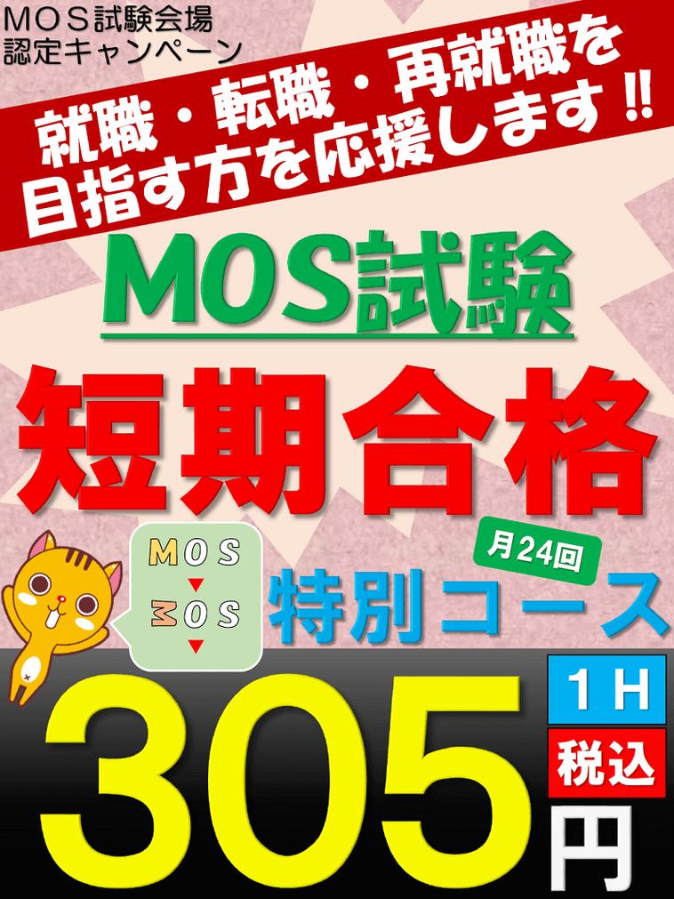 MOS試験短期合格特別コースの画像