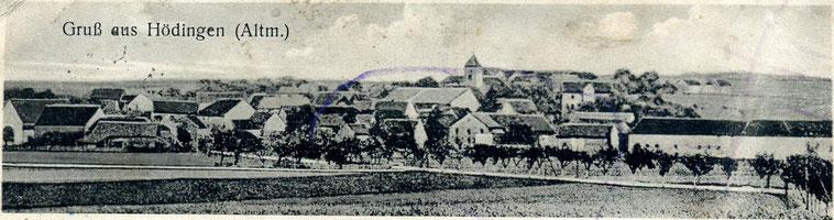 Panorama von Hödingen.