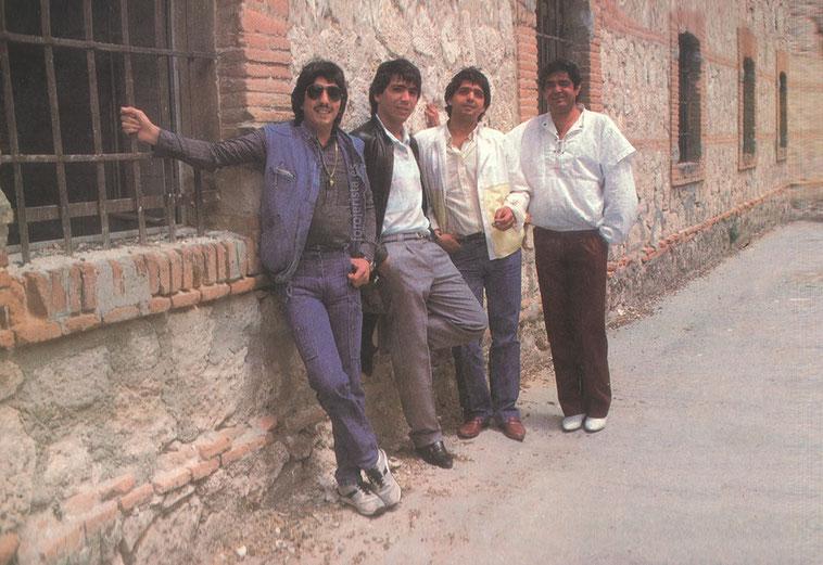 Los Chichos y Juan José Moreno Ocaña 1985