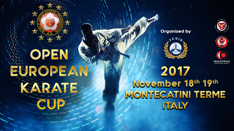WUKO Open Europea Karate Cup 2017