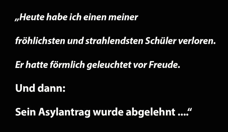 Offener Brief der HTL Braunau: Wir sind von der aktuellen Praxis in Asylverfahren bestürzt Bild:spagra