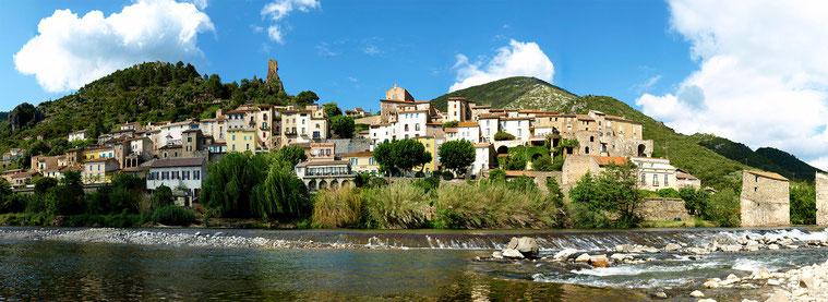 L'Orb arrose le village de Roquebrun. (Héraut)