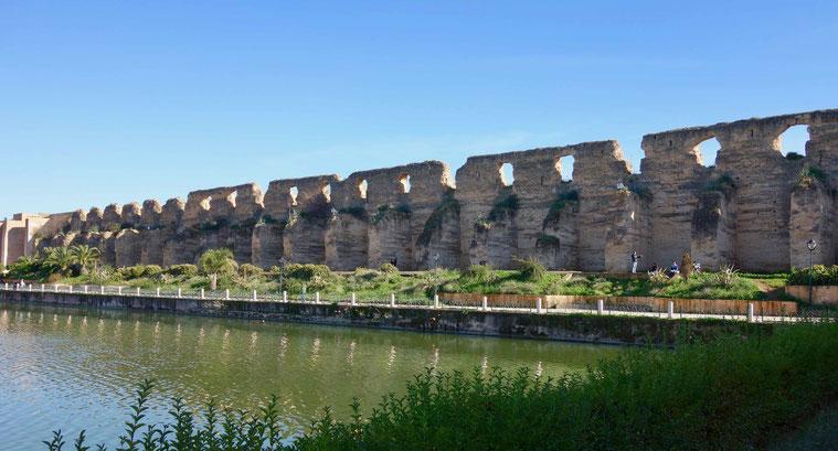 Königliche Stallungen in Meknès, Marokko
