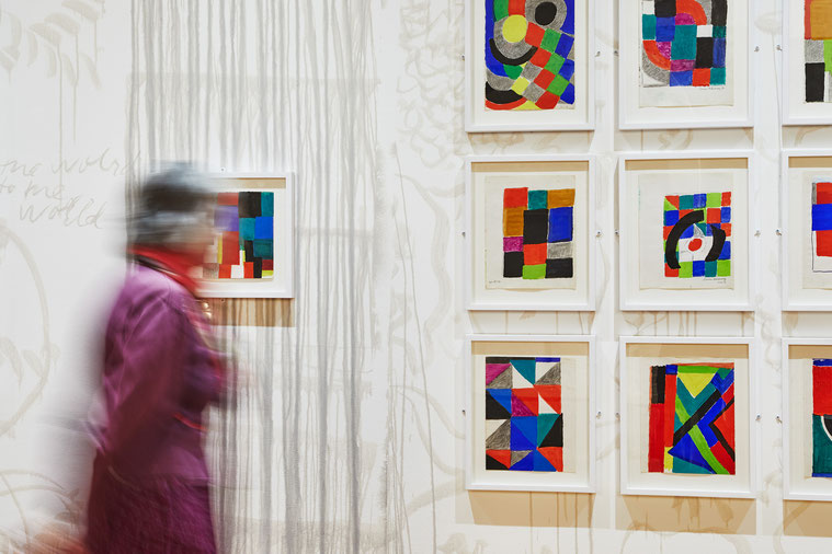Sonia Delaunay © Jeanchristophe Lett, Le livre blanc, Sonia Delaunay, Les 7 clous, Marseille