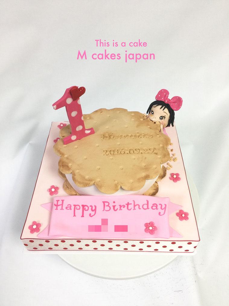 ビスケット ケーキ
