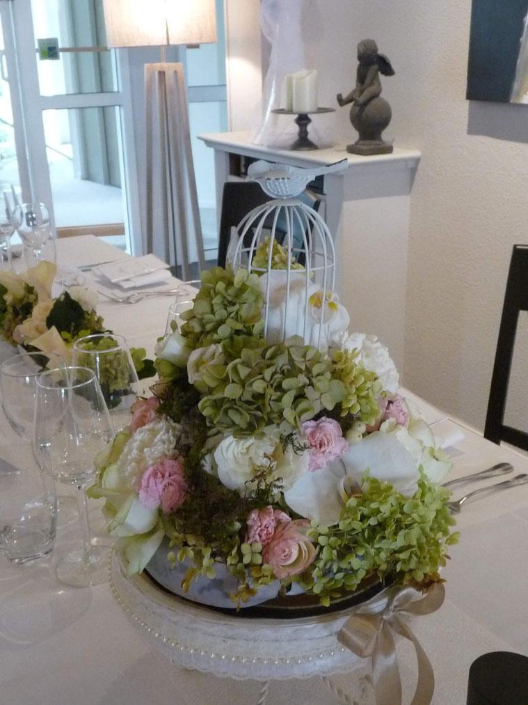 le bouquet de la mariée. Château de Pourtalès.