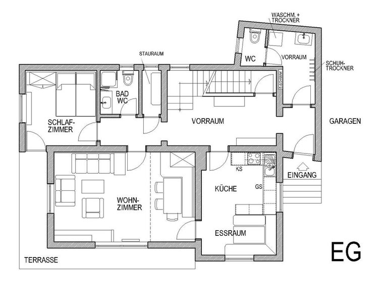 Plan from Ground floor