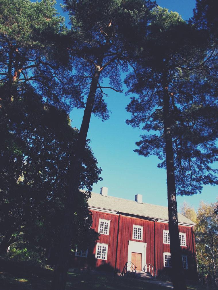 stockholm parc skansen grande rouge