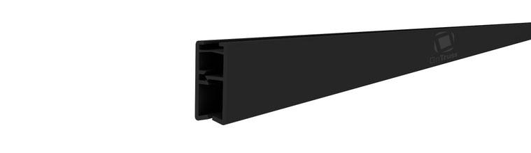 OnTruss FrontCover Profile - einfaches Anbringen von Stoffbahnen und Dekoration am EventBoard