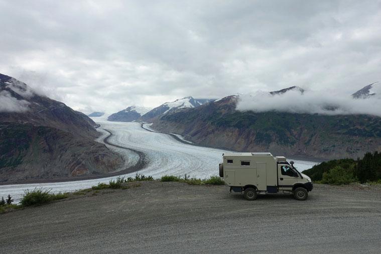 Der schöne Salmon-Gletscher