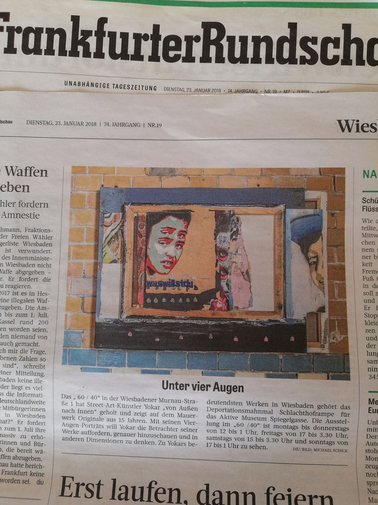 YORKAR _ 4 augen _ Frankfurter Rundschau 2018
